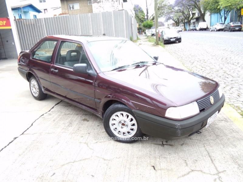 SANTANA 2.0 GL 8V GASOLINA 2P MANUAL - 1993 - CAXIAS DO SUL
