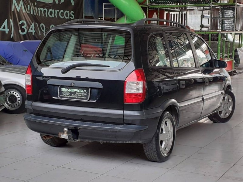zafira 2.0 mpfi comfort 8v flex 4p manual 2005 caxias do sul