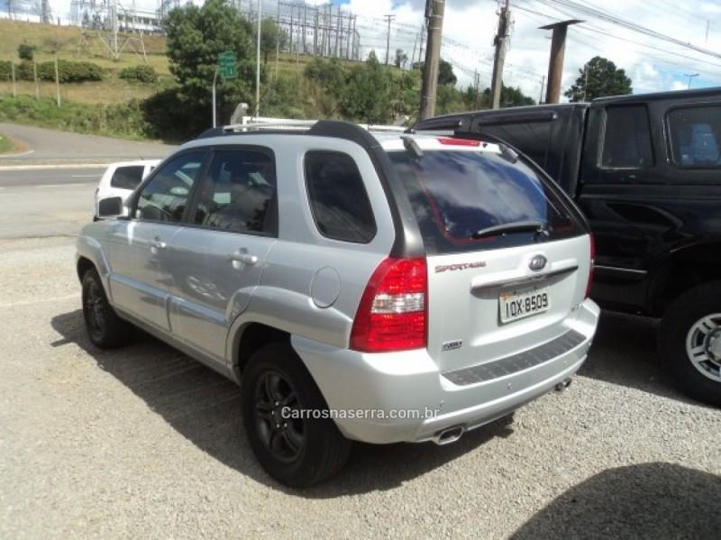sportage 2.7 ex 4x4 v6 24v gasolina 4p automatico 2008 farroupilha