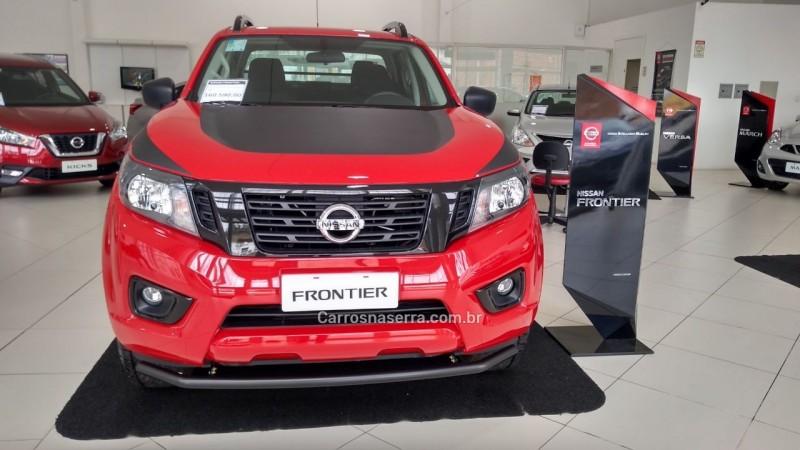 frontier 2.3 attack 4x4 cd bi turbo diesel 4p automatico 2019 bento goncalves
