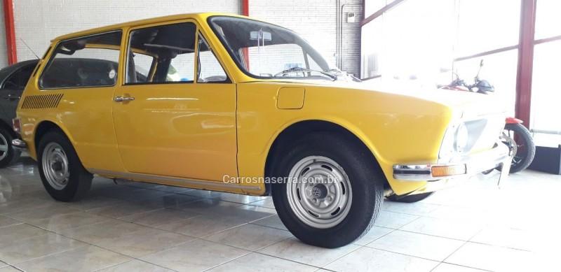 BRASILIA 1.6 8V GASOLINA 2P MANUAL - 1974 - BENTO GONçALVES