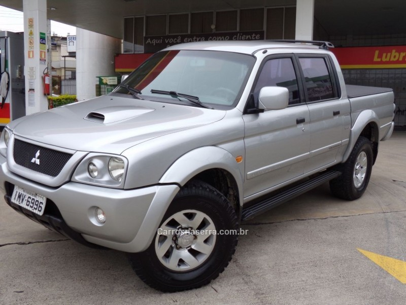 l200 2.5 sport hpe 4x4 cd 8v turbo intercooler diesel 4p manual 2004 caxias do sul