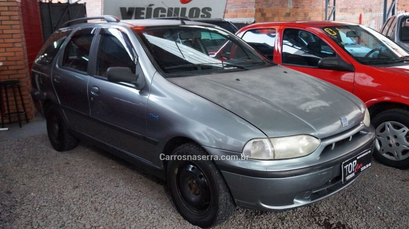 palio 1.0 mpi 6m weekend 8v gasolina 4p manual 1999 caxias do sul