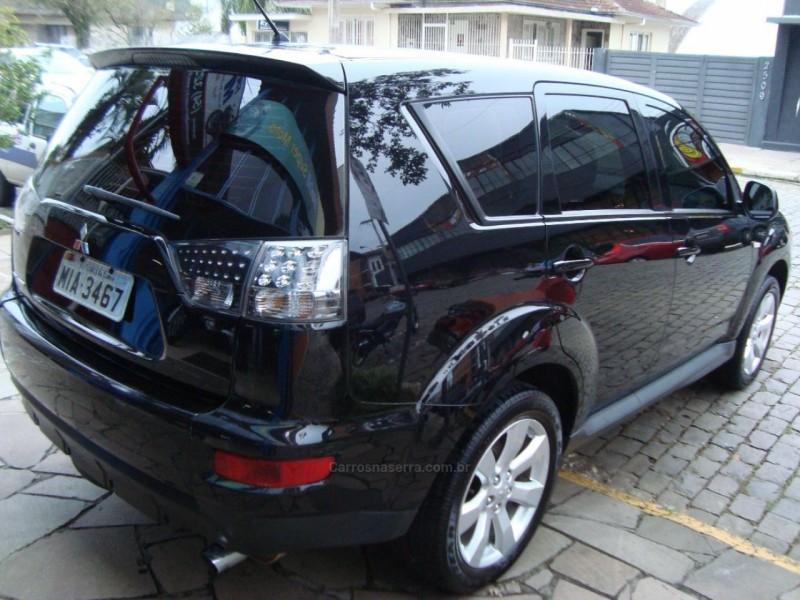 outlander 2.4 4x4 16v gasolina 4p automatico 2011 flores da cunha