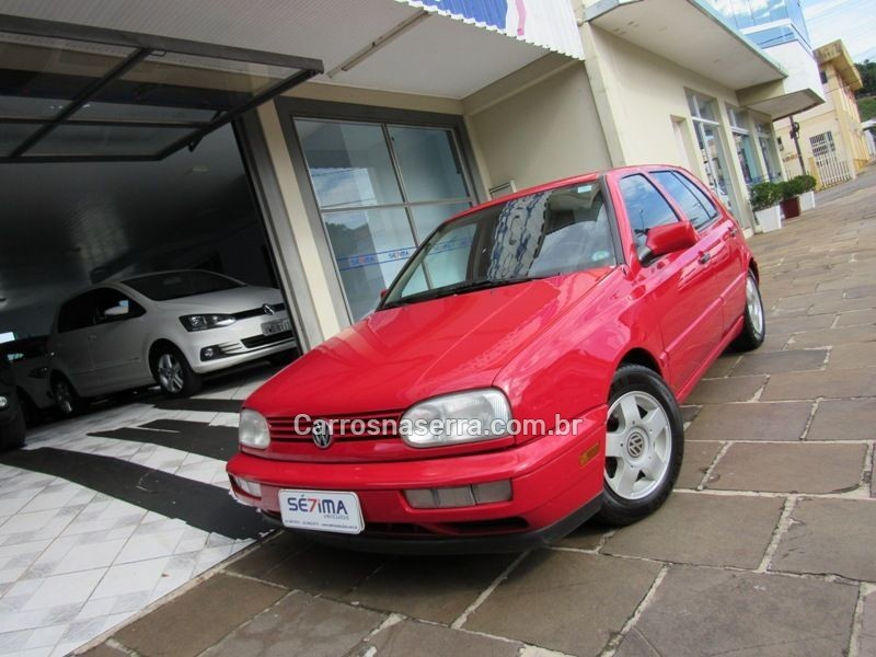 golf 2.0 mi glx 8v gasolina 4p manual 1997 guapore