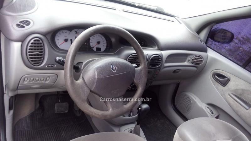 scenic 2.0 privilege 16v gasolina 4p automatico 2004 caxias do sul