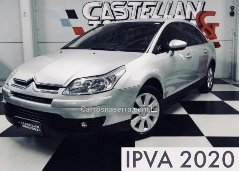 c4 2.0 glx pallas 16v gasolina 4p automatico 2011 caxias do sul