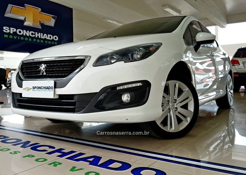 308 1.6 allure 16v flex 4p manual 2016 caxias do sul