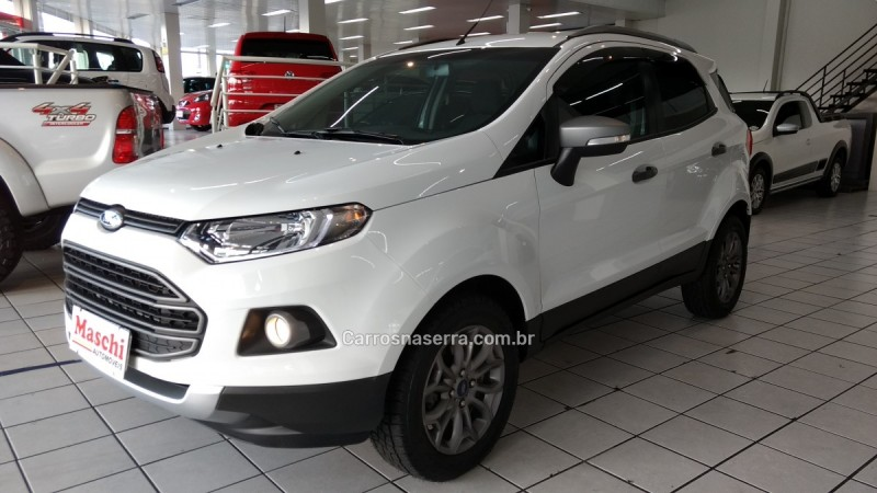 ecosport 1.6 freestyle 8v flex 4p manual 2015 caxias do sul