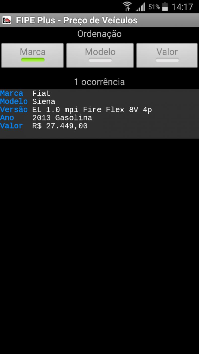 SIENA 1.0 MPI EL 8V FLEX 4P MANUAL - 2013 - CAXIAS DO SUL