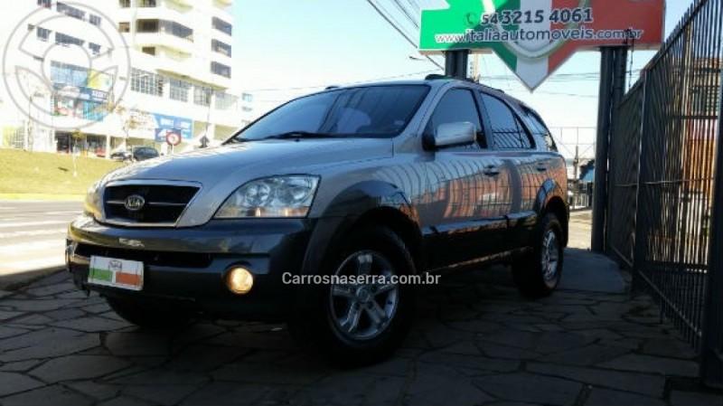 sorento 2.5 ex 4x4 16v turbo intercooler diesel 4p automatico 2006 caxias do sul