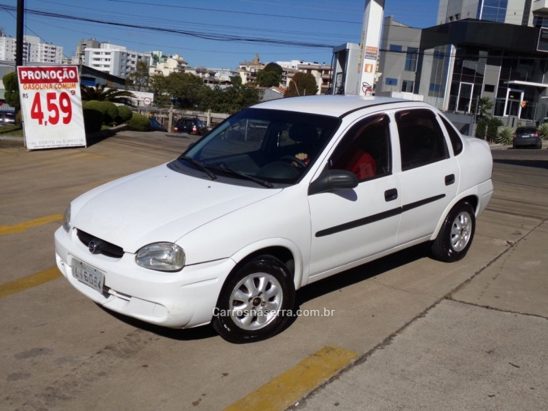 corsa 1.0 mpfi classic sedan 8v gasolina 4p manual 2003 caxias do sul