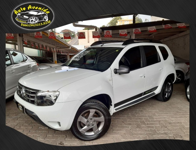 duster 2.0 tech road ii 4x2 16v flex 4p automatico 2014 caxias do sul