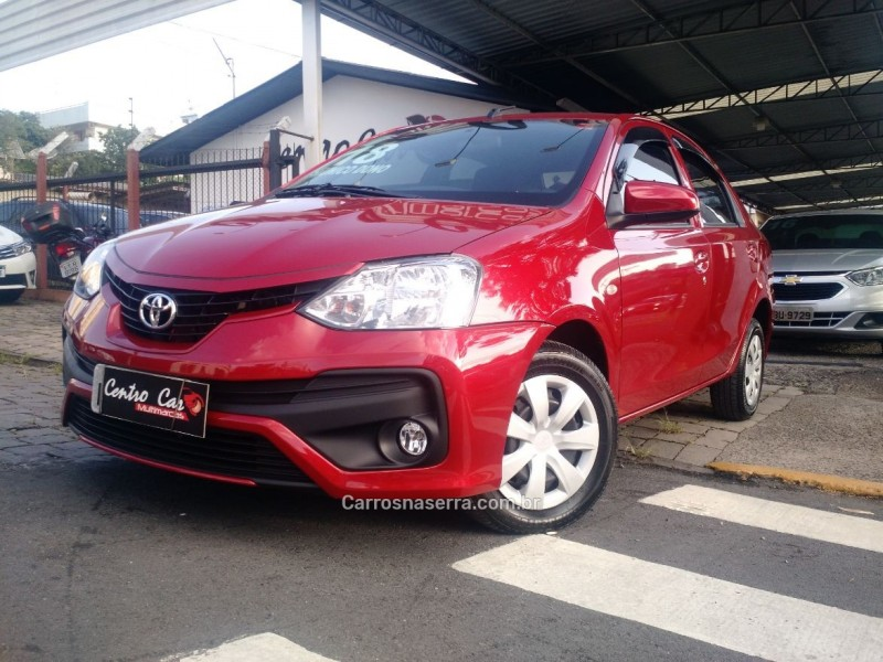 etios 1.5 x plus sedan 16v flex 4p automatico 2018 caxias do sul