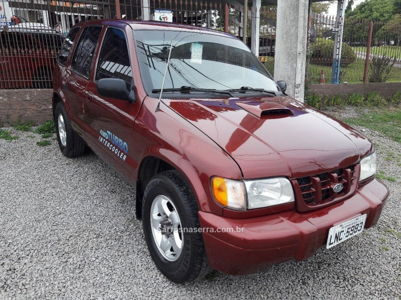 sportage 2.0 dlx 4x4 turbo intercooler diesel 4p manual 2000 caxias do sul