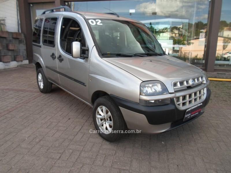 doblo 1.6 mpi elx 16v gasolina 4p manual 2002 caxias do sul