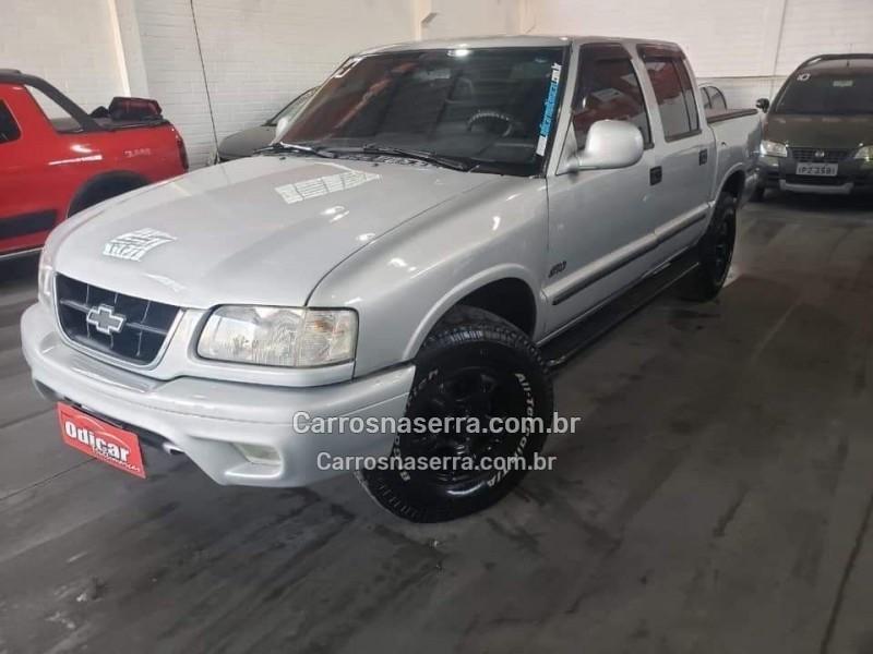 s10 2.5 dlx 4x4 cd 8v turbo diesel 4p manual 2000 caxias do sul