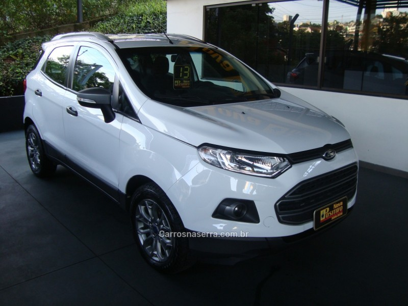 ecosport 1.6 freestyle 8v flex 4p manual 2013 caxias do sul