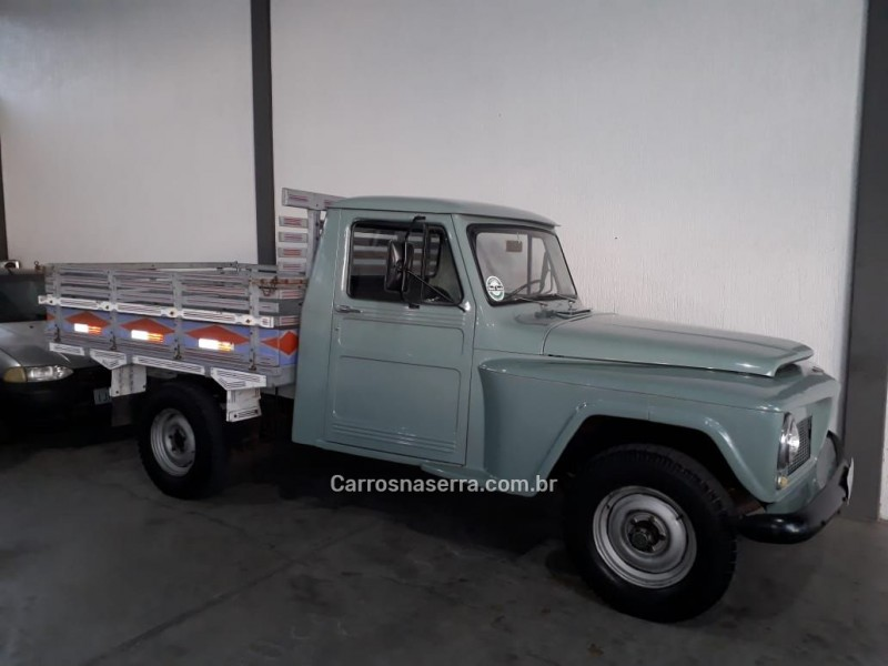 F-75 2.3 4X4 PICK-UP MANUAL - 1967 - SãO SEBASTIãO DO CAí