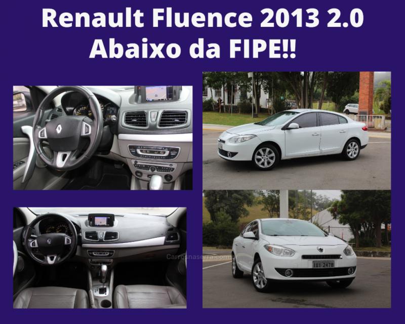 fluence 2.0 privilege 16v flex 4p automatico 2013 caxias do sul