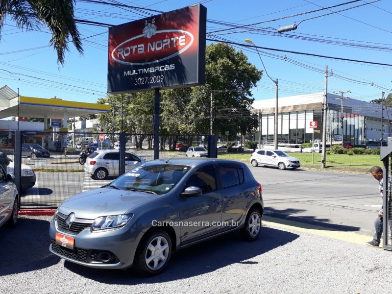 sandero 1.6 expression 8v flex 4p manual 2015 caxias do sul