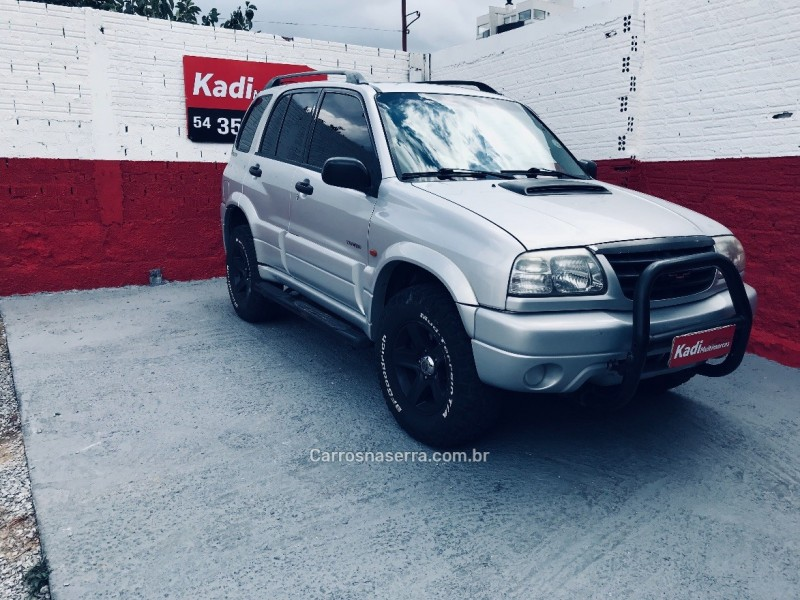 tracker 2.0 4x4 8v turbo intercooler diesel 4p manual 2001 caxias do sul