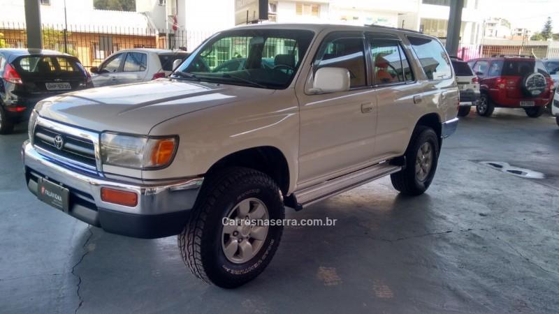 hilux sw4 3.0 4x4 8v turbo diesel 4p manual 1997 caxias do sul
