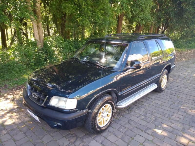 blazer 4.3 sfi dlx executive 4x2 v6 12v gasolina 4p automatico 1999 nova prata