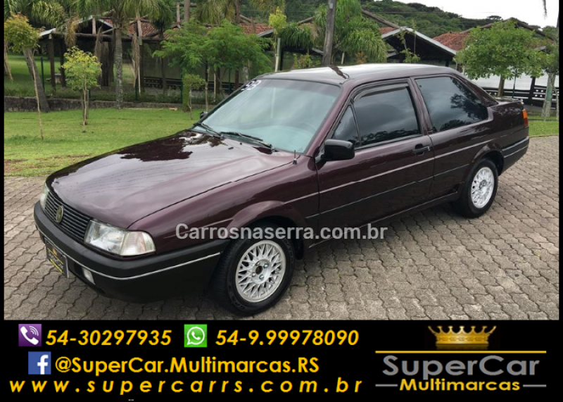santana 1.8 cl 8v gasolina 2p manual 1993 caxias do sul