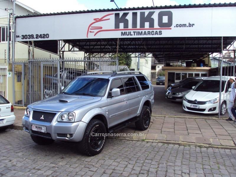 pajero sport 2.8 hpe 4x4 8v turbo intercooler diesel 4p automatico 2008 caxias do sul
