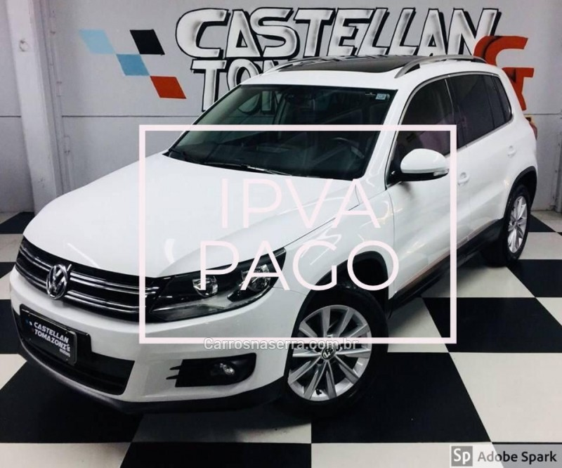 tiguan 2.0 tsi 16v turbo gasolina 4p tiptronic 2014 caxias do sul