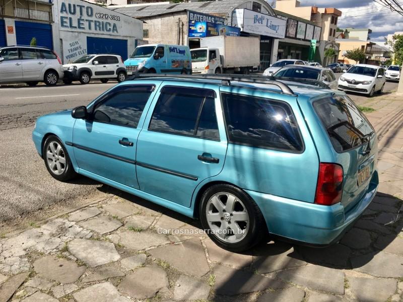 parati 1.6 mi cl 8v gasolina 4p manual 1998 caxias do sul