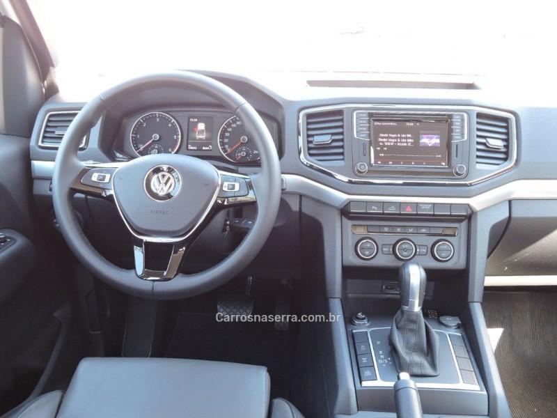 amarok 3.0 v6 tdi highline cd diesel 4motion automatico 2018 veranopolis
