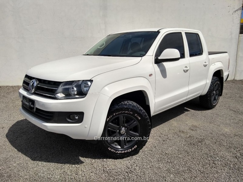 amarok 2.0 trendline 4x4 cd 16v turbo intercooler diesel 4p manual 2014 flores da cunha