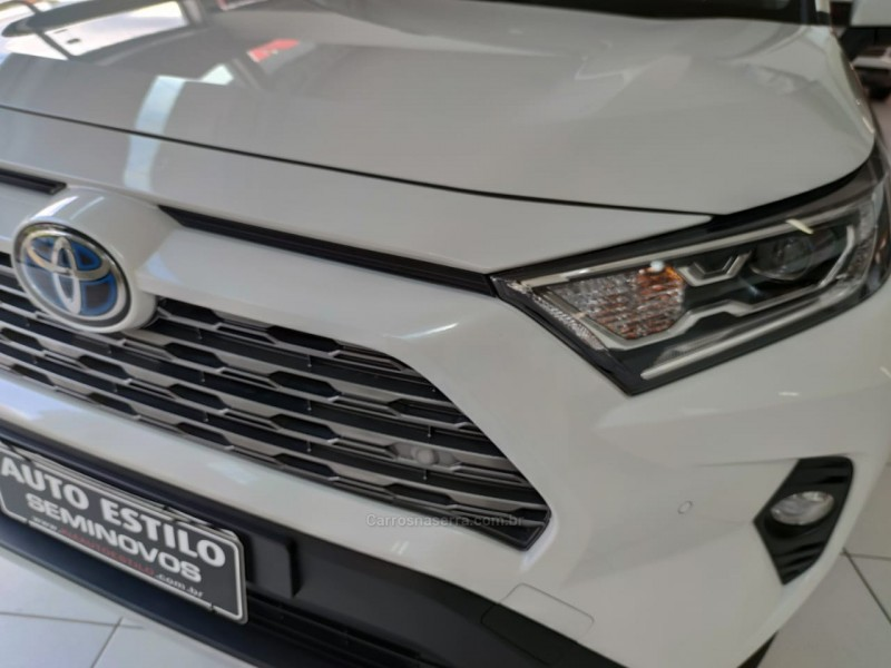 RAV4 2.5 SX LAWD HYBRID 4X4 16V GASOLINA 4P AUTOMÁTICO - 2020 - CAXIAS DO SUL