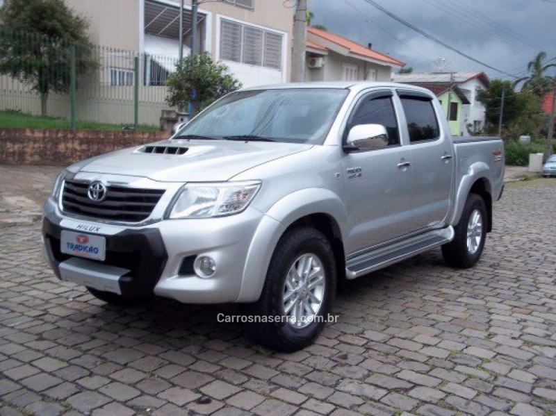 hilux 3.0 sr 4x4 cd 16v turbo intercooler diesel 4p automatico 2013 caxias do sul