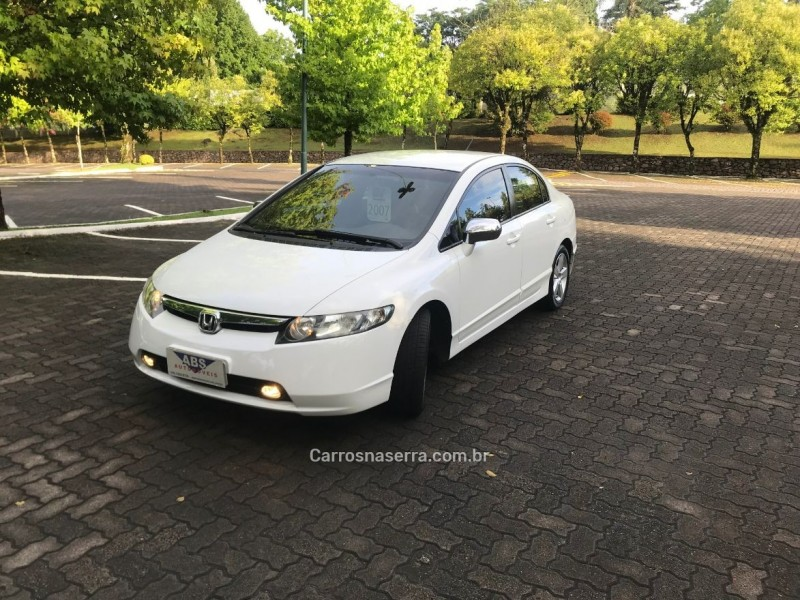 civic 1.8 lxs 16v flex 4p manual 2007 caxias do sul