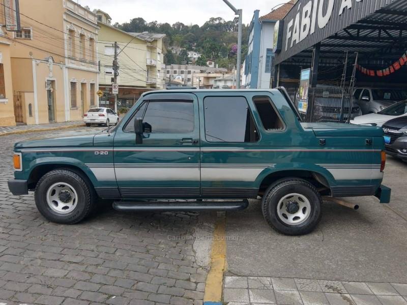 d20 4.0 custom de luxe cd 8v diesel 2p manual 1991 garibaldi