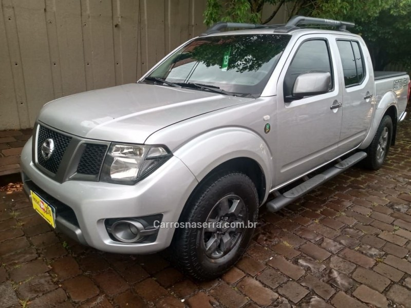 frontier 2.5 sv attack 10 anos 4x4 cd turbo eletronic diesel 4p manual 2013 caxias do sul