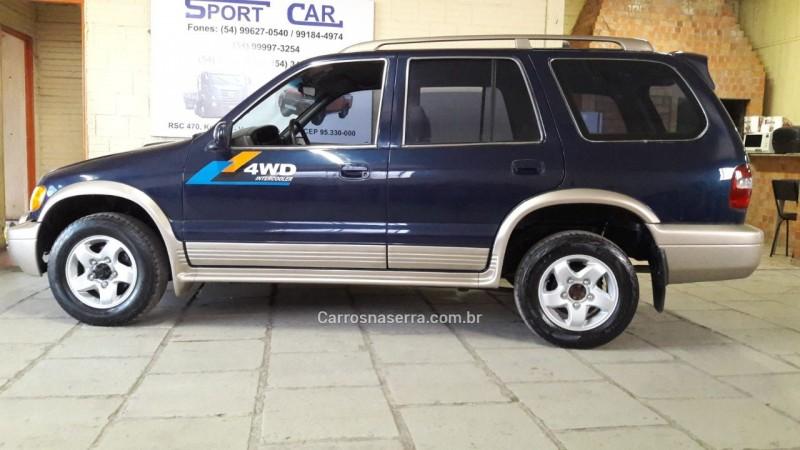 sportage 2.0 dlx grand 4x4 turbo intercooler diesel 4p manual 2001 veranopolis