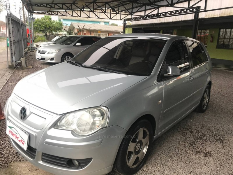 polo 1.6 mi bluemotion 8v flex 4p manual 2009 caxias do sul