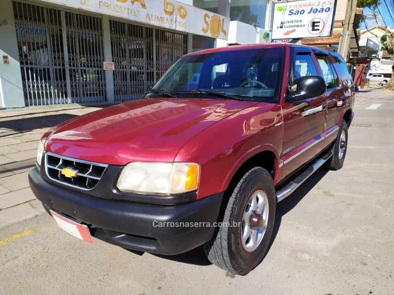 blazer 2.2 efi std 4x2 8v gasolina 4p manual 1997 bento goncalves