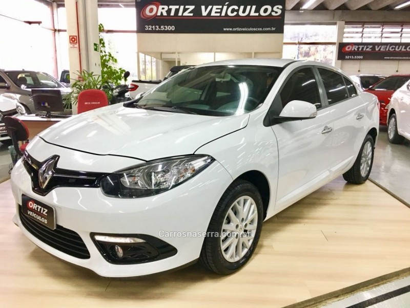fluence 2.0 dynamique 16v flex 4p automatico 2016 caxias do sul