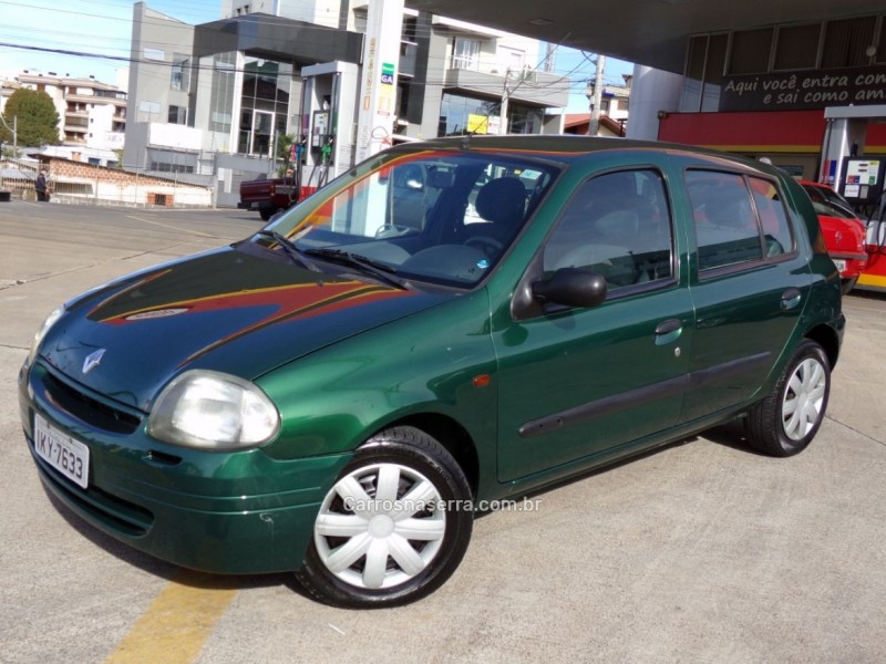 clio 1.0 rn 16v gasolina 4p manual 2003 caxias do sul