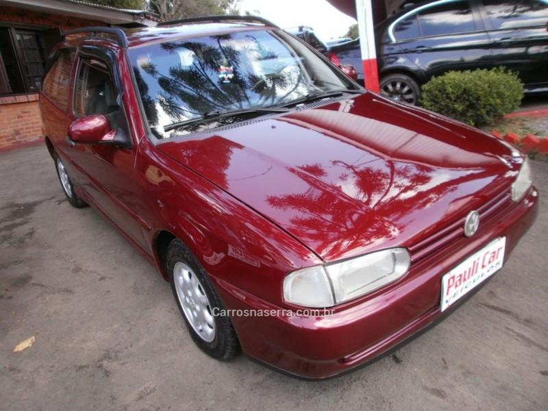parati 1.8 gli 8v gasolina 2p manual 1996 caxias do sul
