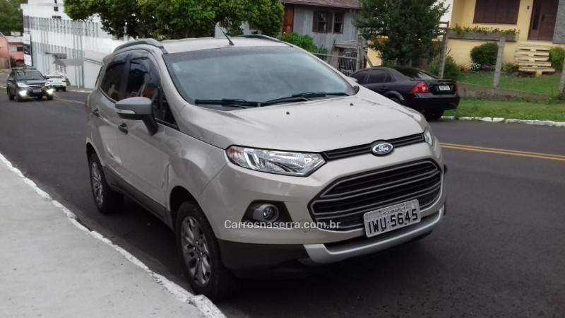 ecosport 1.6 freestyle 8v flex 4p manual 2015 farroupilha