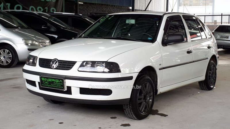 gol 1.0 mi plus 16v gasolina 4p manual 2001 caxias do sul
