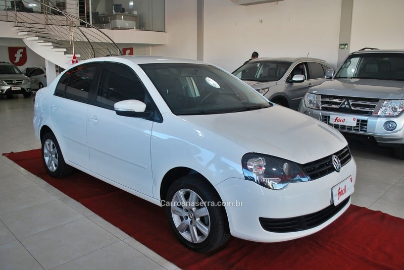 polo sedan 1.6 mi 8v flex 4p manual 2013 santa cruz do sul