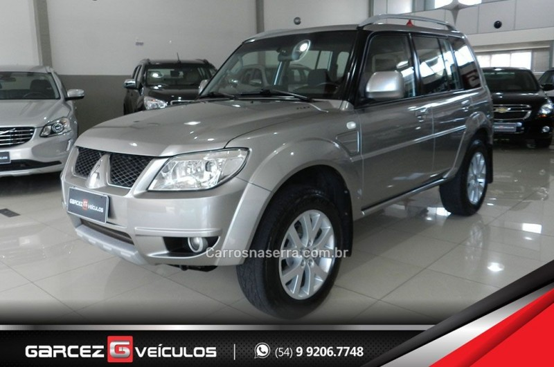 pajero tr4 2.0 4x4 16v 140cv flex 4p manual 2012 bento goncalves