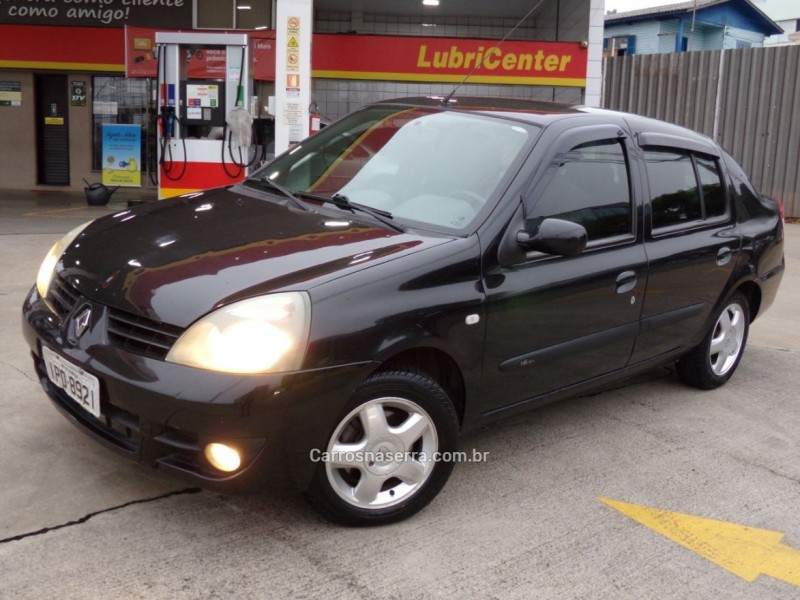 clio 1.6 privilege sedan 16v flex 4p manual 2009 caxias do sul